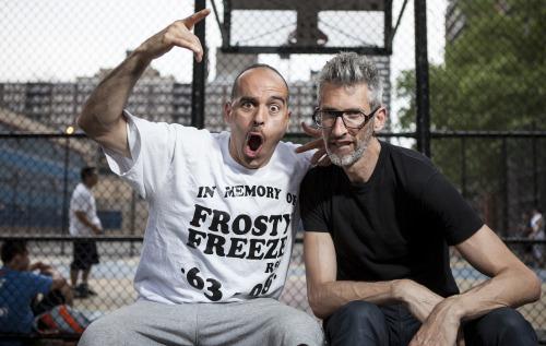 Bobbito Garcia și Stretch Armstrong