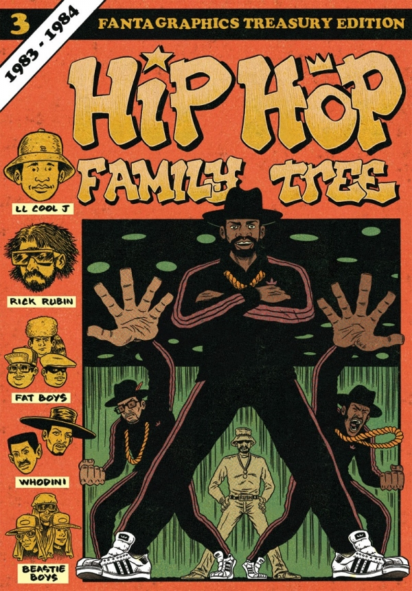 "Coperta cărții de benzi desenate ""Hip Hop Family Tree"" vol. 3 (foto: Fantagraphics)"