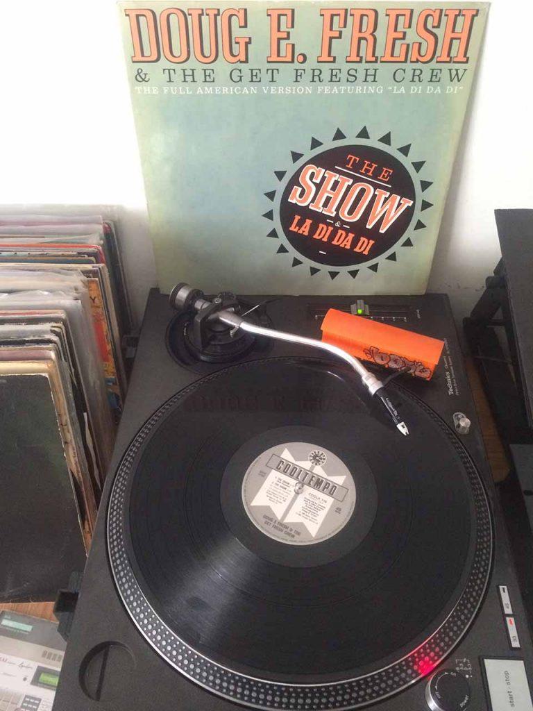 Doug E. Fresh & The Get Fresh Crew - The Show/La Di Da Di - disc din colectia personala DJ Klaus EB