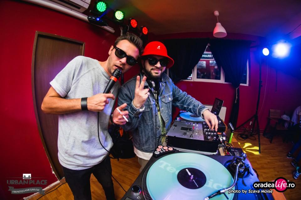 MC Dany (Mega Discoteca Tineretului Costinești) și DJ Klaus EB (Grafformers Oradea) la Nymphea Dance 2015 Preparty