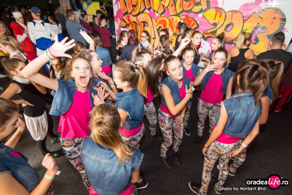 Tineri și trupe de dans la Nymphea Dance 2013