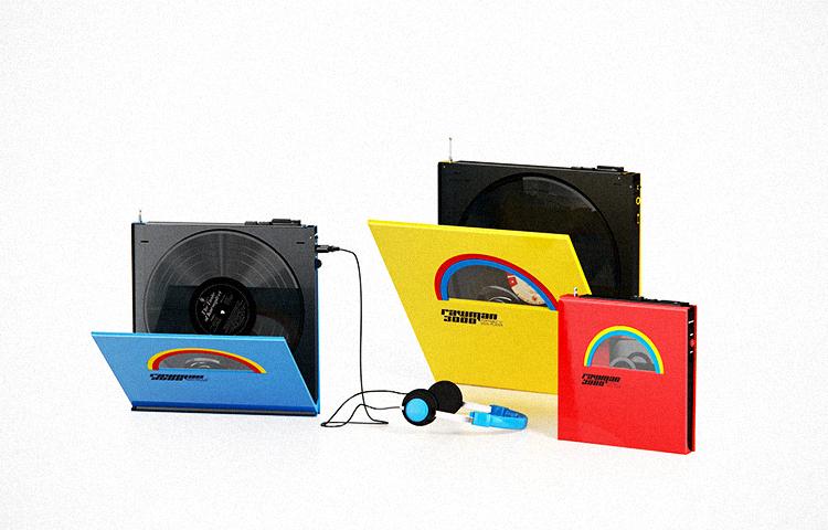 Modele de aparate portabile cu vinil Rawman 3000